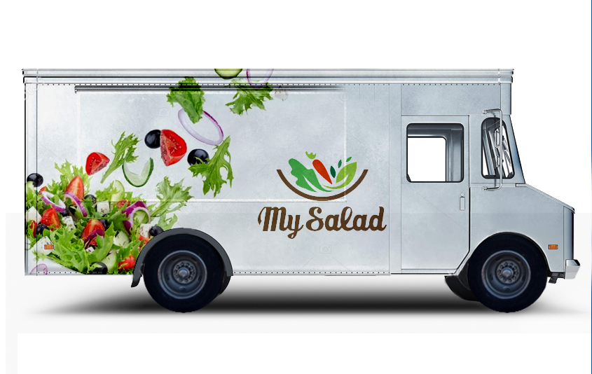 Customized Food Truck Wraps
