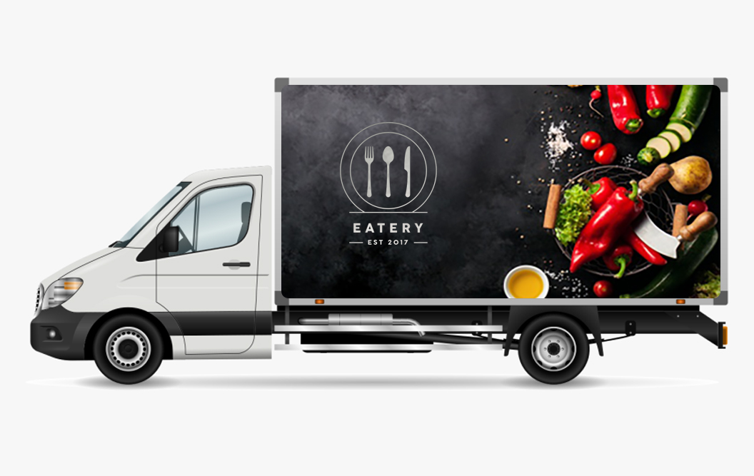 promotional truck wraps in nj