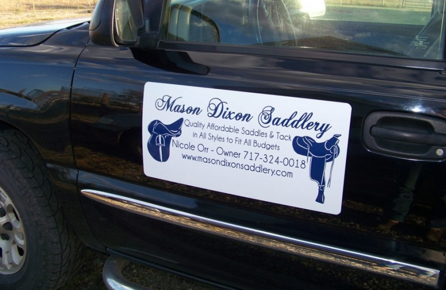 Vehicle Magnetic Sign